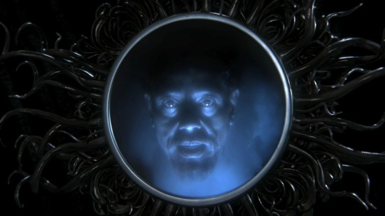 The Evil Queen's magic mirror from Once Upon a Time.