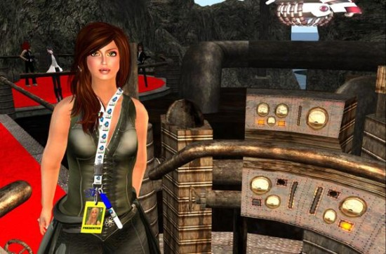 One of the presenters at this year's VWBPE conference. (Image courtesy mrsdurff via Flickr.)