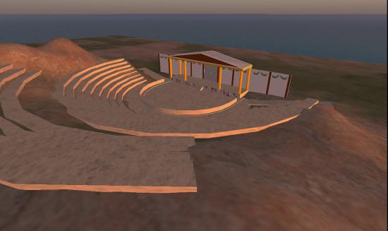 Theater of Dionysus. (Image courtesy Erik Nauman.)