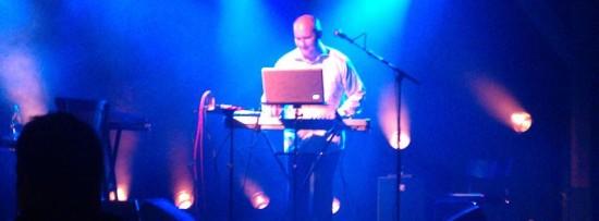 Torben Asp in performance. (Image courtesy Avination.)