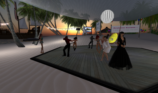 Avalonia Estate's grand opening party. (Image courtesy Justin Ireman.)