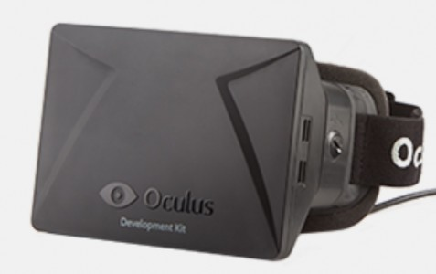 Oculus Rift Development Kit Headset. (Image courtesy OculusVR.)