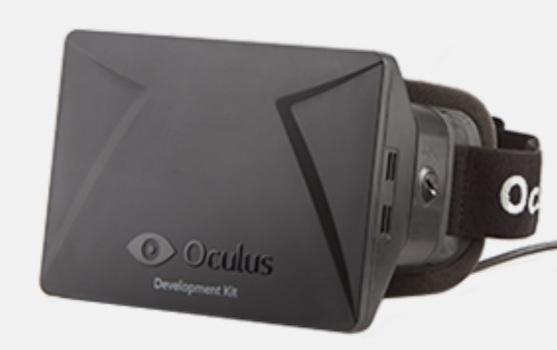 Oculus Rift Development Kit Headset. (Image courtesy OculusVR.)