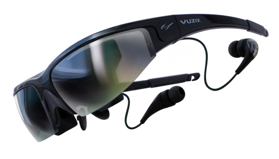 Vuzix Wrap 1200 with headset