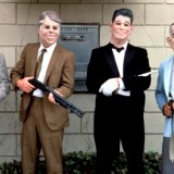 You can't always recognize criminals by their masks and guns. (Still from the movie Point Break.)