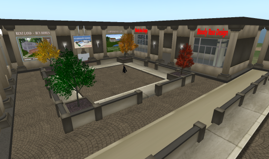 Avalonia Estate's new shopping mall. (Image courtesy Justin Ireland.)