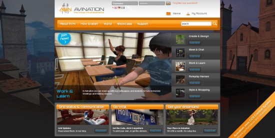 Avination website