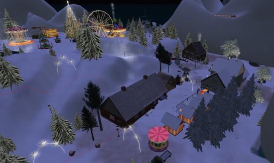 Christmas Market region on Dorena's World.