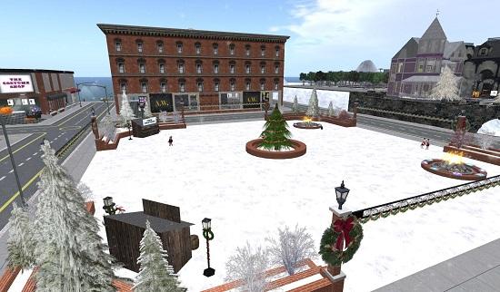 Winter on Littlefield Grid. (Image courtesy Littlefield Grid.)