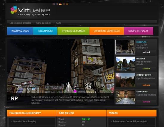 Virtual RP website