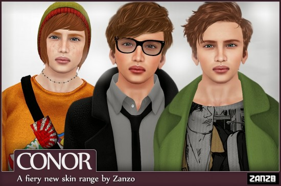 Conor skins by Zanzo. (Image courtesy Zanzo.)