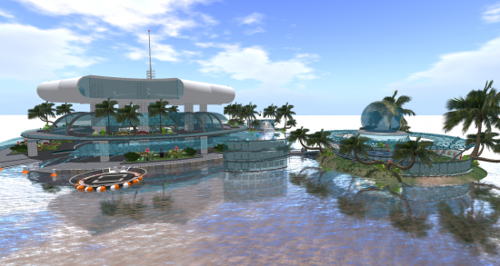 New Welcome Zone. (Image courtesy Island Oasis.)