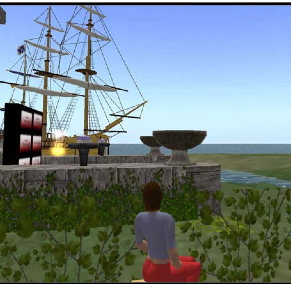 Ramapo Islands in Second Life. (Image courtesy Technology & Marketing Law Blog.)
