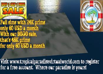 TPVW Land Sale Promo