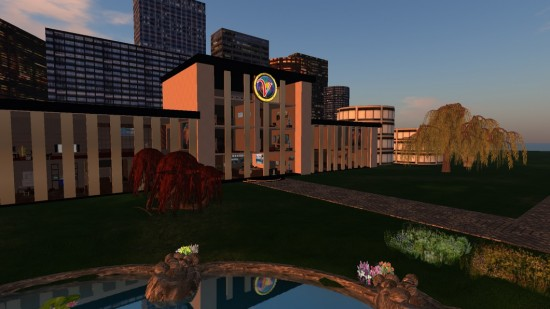 Virtual Highway grid headquarters. (Image courtesy Virtual Highway.)