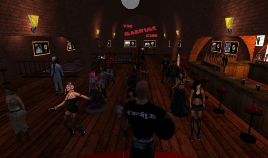 Maritime Club Belfast on OSgrid. (Image courtesy Stiofain MacTomais.)
