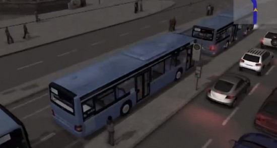 3D City Bus Simulation. Click image to go to video.
