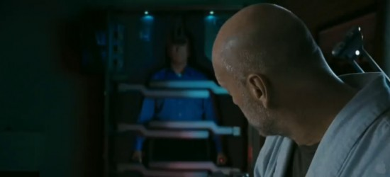 Image still from Surrogates trailer. Click image to go to video on YouTube.