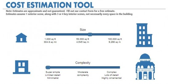 ArchVirtual Cost Estimation
