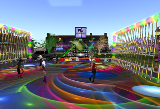 Mardi Gras by day. (Image courtesy Virtual Highway.)