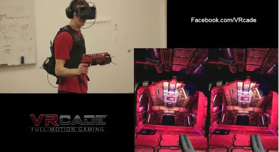 VRcade is an Oculus Rift competitor but is a commercial-grade product, not a consumer one.