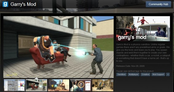 Garry's Mod on Steam.