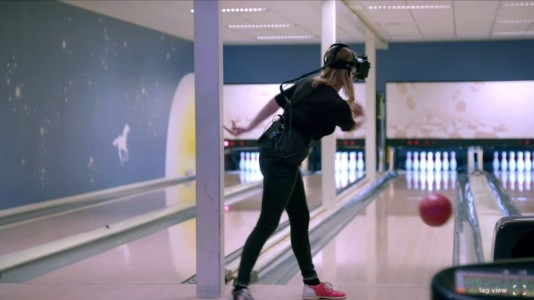 Oculus Rift ad bowling