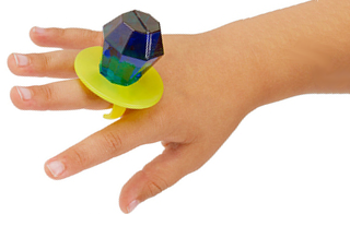 This Ring Pop is both bigger and tastier than a diamond ring.