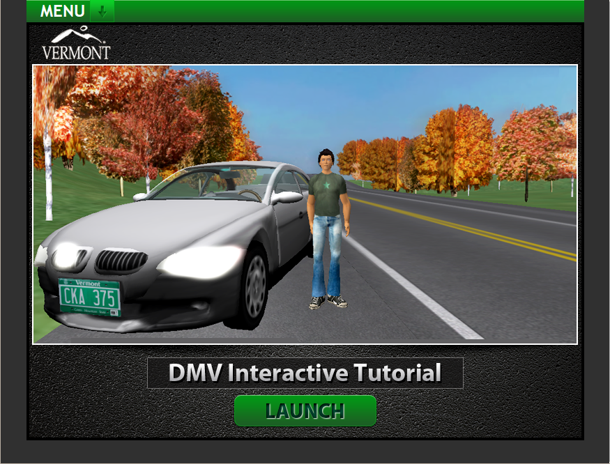 The online course embeds video segments which were filmed inside Second Life. (Image courtesy Designing Digitally.)