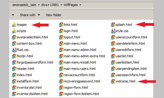 Wifi files