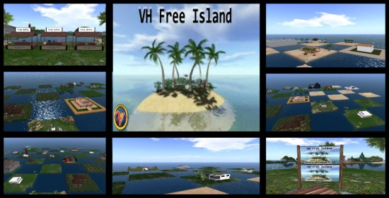 Free homestead plots on Virtual Highway. (Image courtesy Virtual Highway.)