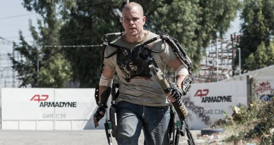Matt Damon in 2013's Elysium.