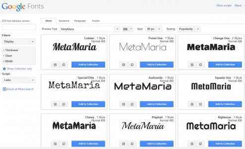 Which of these MetaMarias is the most meta?
