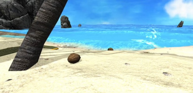 "A virtual environment in the ""Guided Meditation"" Oculus Rift application from Virtual Ninjas. (Image courtesy Virtual Ninjas.)"