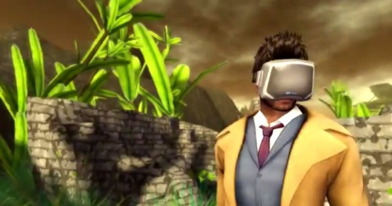 Unfortunately, the virtual version of the Oculus Rift headset does not come included with the viewer.
