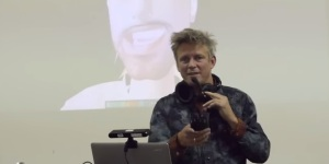 Philip Rosedale giving a recent presentation about High Fidelity. Click on image for full video.