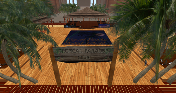 A club on the Tropical Paradise Virtual World. (Image courtesy Tropical Paradise Virtual World.)