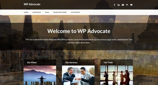 WP Advocate theme
