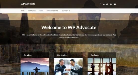 WP Advocate theme
