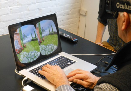 An Oculus Rift demo at TruexCullins. (Image courtesy TruexCullins.)