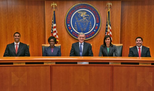 FCC commissioners. (Image courtesy FCC.)