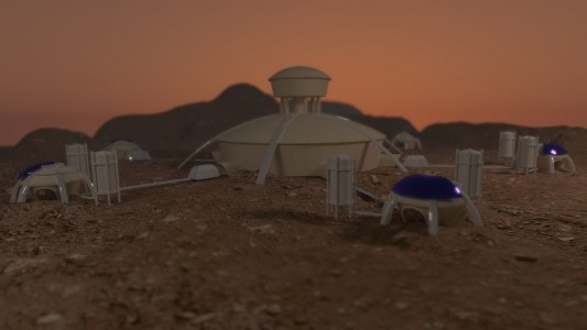 Mars Base Station System by positron18. (Via MakerBot Thingiverse.)
