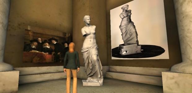 Aphrodite -- better known as Venus de Milo -- on display in Art Gallery 25.