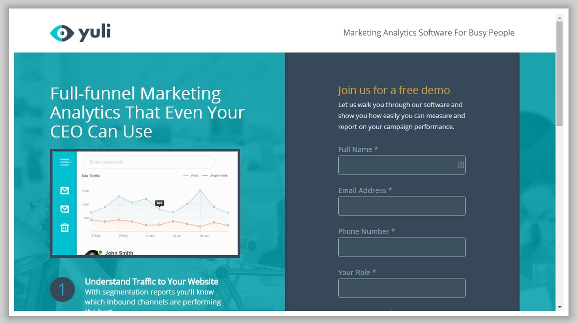 Ways Landing Pages Help You Sell Better - Sample landing page template
