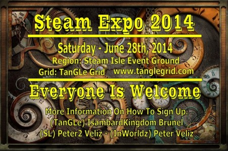 Tangle Grid steam expo poster