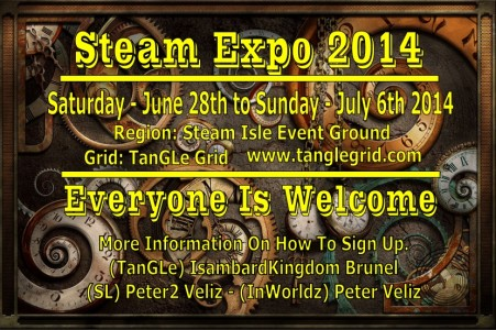 poster steam event new