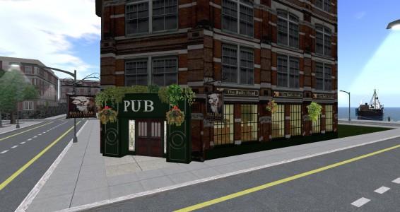Bull's Head Pub. (Image courtesy Littlefield.)