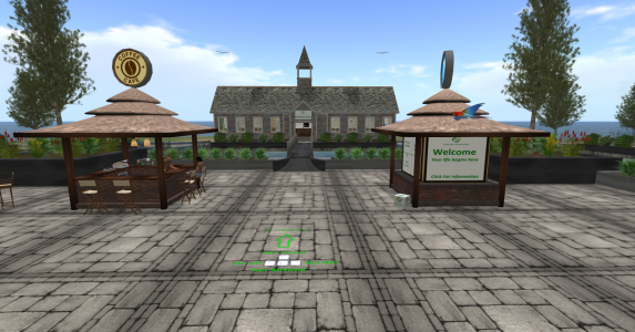 Welcome Center on the new Exo-Life grid. (Image courtesy Exo-Life.)