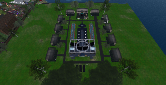 The Fashion Expo show grounds. (Image courtesy Tangle Grid.)