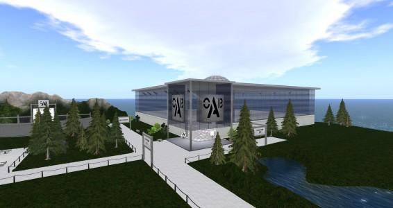 OpenSim Builders Alliance region. (Image courtesy Littlefield.)